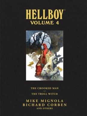 HELLBOY LIBRARY EDITION VOLUME 4 THE CROOKED MAN AND THE TROLL WITCH HARDCOVER