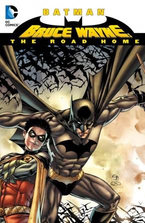BATMAN BRUCE WAYNE THE ROAD HOME HARDCOVER