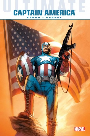 ULTIMATE COMICS CAPTAIN AMERICA HARDCOVER