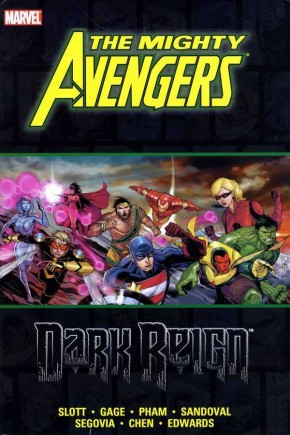 MIGHTY AVENGERS DARK REIGN HARDCOVER