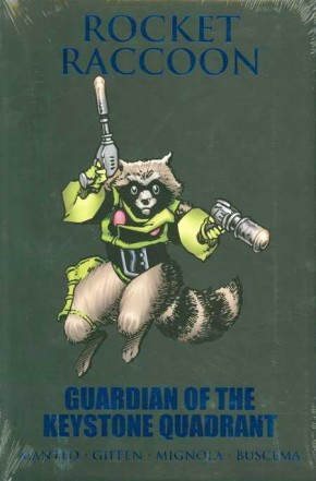 ROCKET RACCOON GUARDIAN OF THE KEYSTONE QUADRANT HARDCOVER