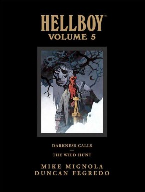 HELLBOY LIBRARY EDITION VOLUME 5 DARKNESS CALLS WILD HUNT HARDCOVER