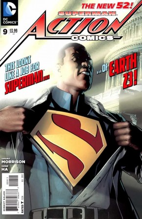 ACTION COMICS #9 (2011 SERIES)