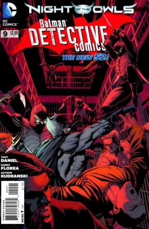 DETECTIVE COMICS #9 (2011 SERIES) 1 IN 25 INCENTIVE