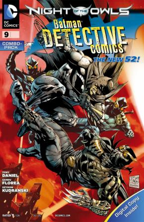 DETECTIVE COMICS #9 (2011 SERIES) COMBO PACK