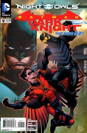 BATMAN THE DARK KNIGHT #9 (2011 SERIES)