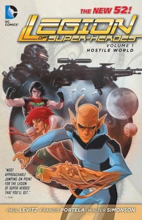 LEGION OF SUPER HEROES VOLUME 1 HOSTILE WORLD GRAPHIC NOVEL