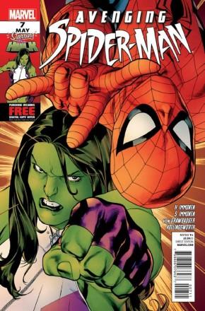 AVENGING SPIDER-MAN #7 (2011 SERIES)