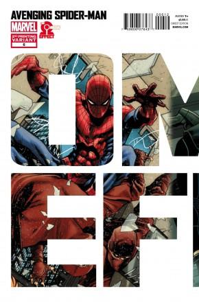 AVENGING SPIDER-MAN #6 (2011 SERIES) 2ND PRINTING