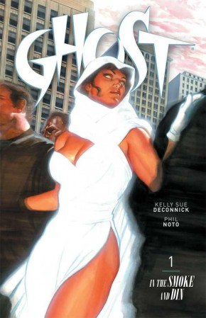 GHOST VOLUME 1 IN THE SMOKE AND DIN GRAPHIC NOVEL