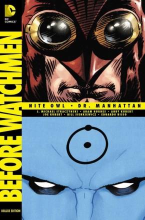 BEFORE WATCHMEN NITE OWL DR MANHATTAN DELUXE HARDCOVER