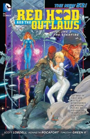 RED HOOD AND THE OUTLAWS VOLUME 2 STARFIRE GRAPHIC NOVEL