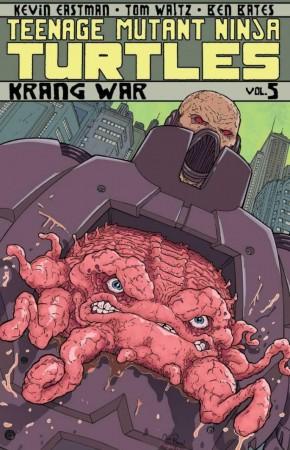 TEENAGE MUTANT NINJA TURTLES VOLUME 5 KRANG WAR GRAPHIC NOVEL