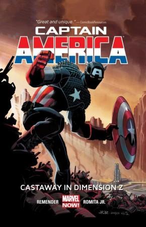 CAPTAIN AMERICA VOLUME 1 CASTAWAY IN DIMENSION Z BOOK 1 HARDCOVER