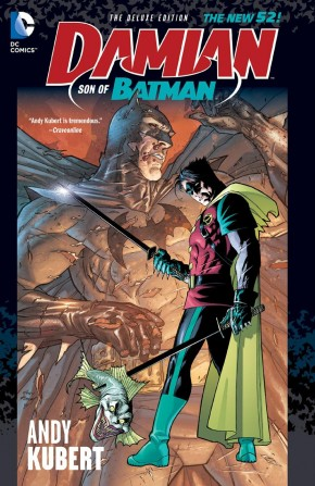 DAMIAN SON OF BATMAN DELUXE EDITION HARDCOVER