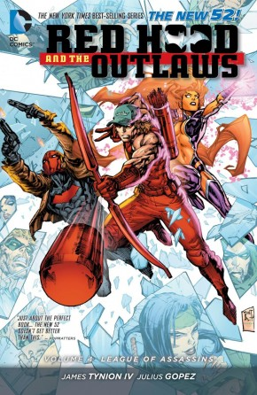 RED HOOD AND THE OUTLAWS VOLUME 4 LEAGUE OF ASSASSINS GRAPHIC NOVEL