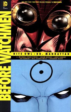 BEFORE WATCHMEN NITE OWL DR MANHATTAN GRAPHIC NOVEL