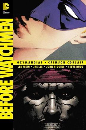 BEFORE WATCHMEN OZYMANDIAS CRIMSON CORSAIR GRAPHIC NOVEL