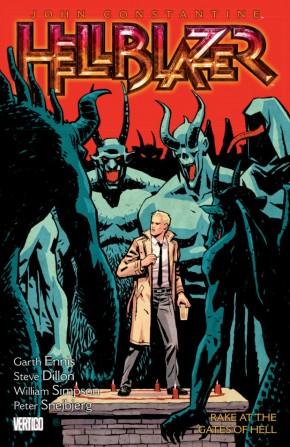 HELLBLAZER VOLUME 8 RAKE AT THE GATES OF HELL GRAPHIC NOVEL