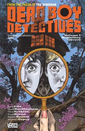 Dead Boy Detectives Volume 1 Schoolboy Terrors Graphic Novel