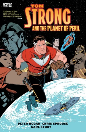 TOM STRONG AND THE PLANET OF PERIL GRAPHIC NOVEL