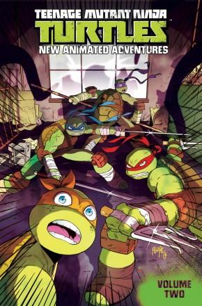 TEENAGE MUTANT NINJA TURTLES NEW ANIMATED ADVENTURES VOLUME 2 GRAPHIC NOVEL