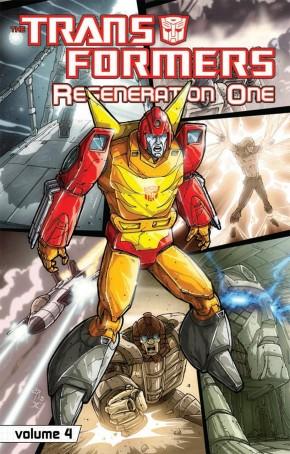 TRANSFORMERS REGENERATION ONE VOLUME 4 GRAPHIC NOVEL