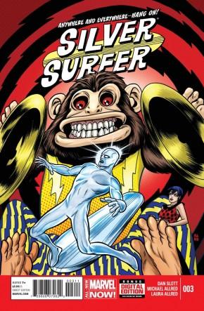SILVER SURFER #3 (2014 SERIES)