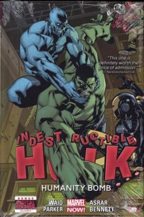 INDESTRUCTIBLE HULK VOLUME 4 HUMANITY BOMB HARDCOVER