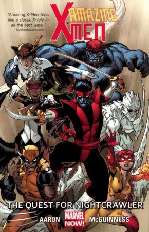 AMAZING X-MEN VOLUME 1 QUEST FOR NIGHTCRAWLER GRAPHIC NOVEL