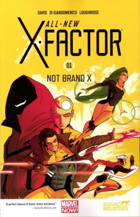 ALL NEW X-FACTOR VOLUME 1 NOT BRAND X GRAPHIC NOVEL