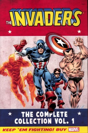INVADERS CLASSIC COMPLETE COLLECTION VOLUME 1 GRAPHIC NOVEL