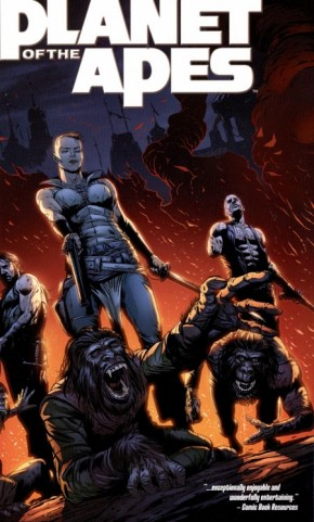 PLANET OF THE APES VOLUME 5 GRAPHIC NOVEL