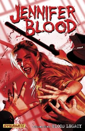 JENNIFER BLOOD VOLUME 5 BLOOD LEGACY GRAPHIC NOVEL