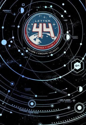LETTER 44 VOLUME 1 ESCAPE VELOCITY GRAPHIC NOVEL