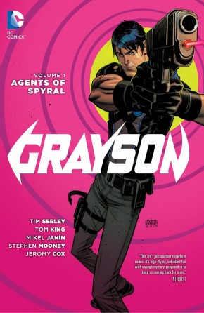 GRAYSON VOLUME 1 AGENTS OF SPYRAL HARDCOVER