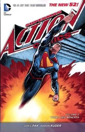 SUPERMAN ACTION COMICS VOLUME 5 WHAT LIES BENEATH GRAPHIC NOVEL