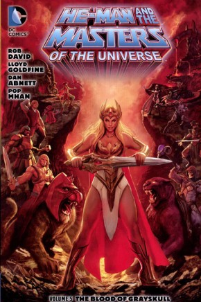 HE-MAN AND THE MASTERS OF THE UNIVERSE VOLUME 5 GRAPHIC NOVEL