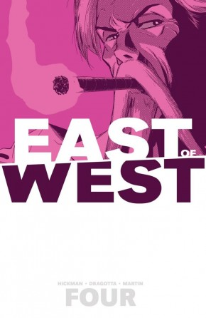 EAST OF WEST VOLUME 4 WHO WANTS WAR GRAPHIC NOVEL