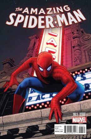AMAZING SPIDER-MAN #18.1 (2014 SERIES) GREG LAND VARIANT