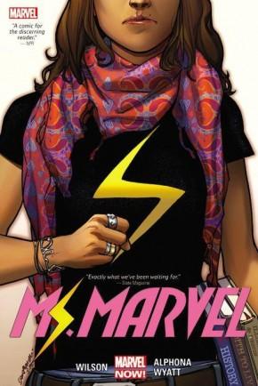MS MARVEL VOLUME 1 OVERSIZED HARDCOVER