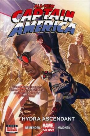 ALL-NEW CAPTAIN AMERICA VOLUME 1 HYDRA ASCENDANT HARDCOVER