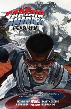 ALL-NEW CAPTAIN AMERICA FEAR HIM GRAPHIC NOVEL