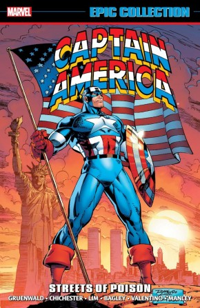 CAPTAIN AMERICA EPIC COLLECTION STREETS OF POISON GRAPHIC NOVEL