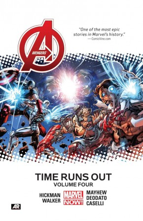 AVENGERS TIME RUNS OUT VOLUME 4 HARDCOVER