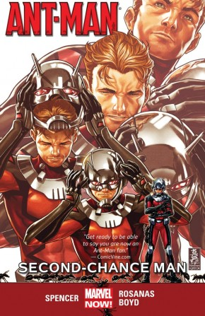 ANT-MAN VOLUME 1 SECOND CHANCE MAN GRAPHIC NOVEL