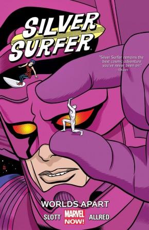 SILVER SURFER VOLUME 2 WORLDS APART GRAPHIC NOVEL