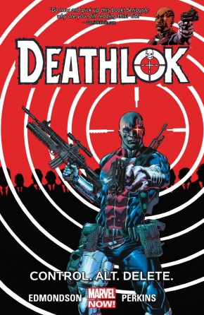 DEATHLOK VOLUME 1 CONTROL ALT DELETE GRAPHIC NOVEL