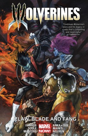 WOLVERINES VOLUME 2 CLAW BLADE AND FANG GRAPHIC NOVEL