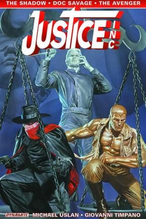 JUSTICE INC VOLUME 1 GRAPHIC NOVEL
